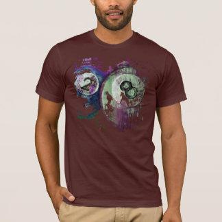 2 und 8 Billard-Bälle abstrakt T-Shirt