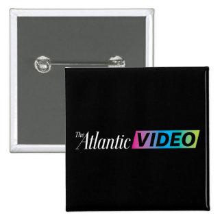 2 Zoll-quadratischer atlantischer Videoknopf Quadratischer Button 5,1 Cm