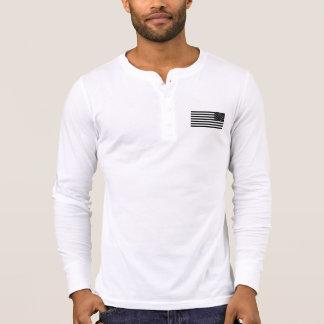 2A (zweite Änderung) Est. Henley lange Hülse 1776 T-Shirt