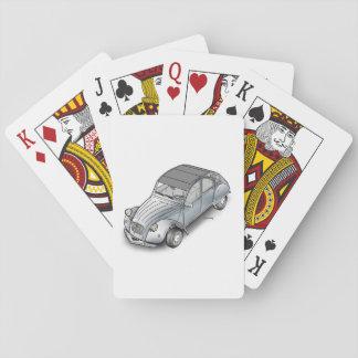 2cv Citroen Spielkarten