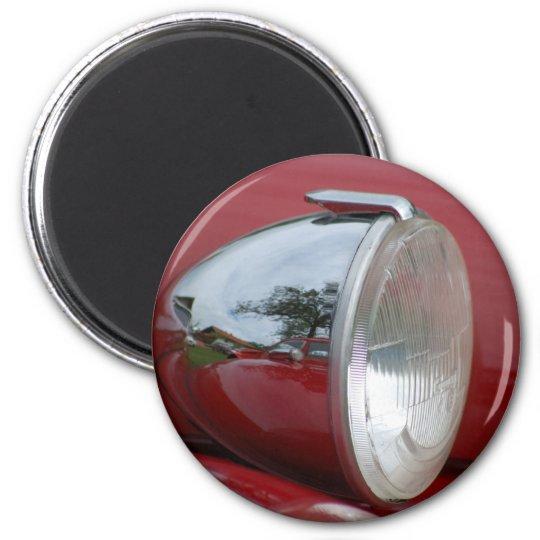 2CV Ente Scheinwerfer Runder Magnet 5,7 Cm