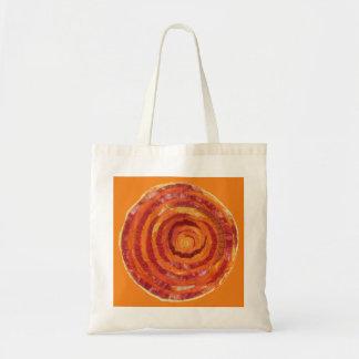 2nd-Sacral Chakra orange Gewebe-Farbe #2 Tragetasche