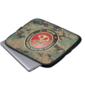 [300] Corpo De Fuzileiros Navais [Brasilien] (CFN) Laptop Sleeve