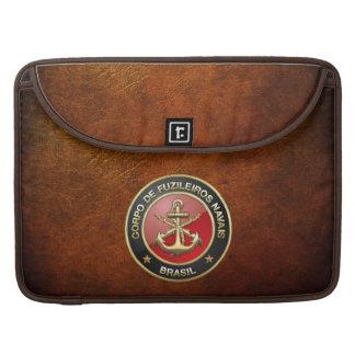 [300] Corpo De Fuzileiros Navais [Brasilien] (CFN) Sleeve Für MacBook Pro