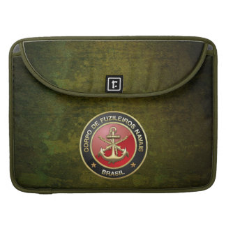 [300] Corpo De Fuzileiros Navais [Brasilien] (CFN) Sleeve Für MacBooks
