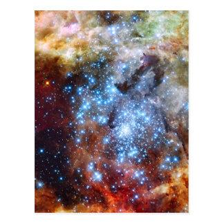 30 Doradus Nebelfleck-Sternhaufen Postkarte