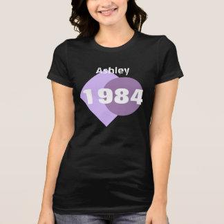 30. Geburtstags-Geschenk 1984 geometrisch mit T-Shirt