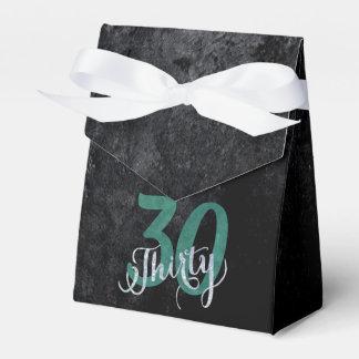 30. Geburtstags-Jahrestags-Party des Grün-| Geschenkschachtel