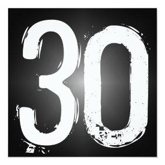 30. Geburtstags-Party Einladung