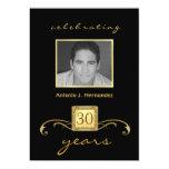 30. Geburtstags-Überraschungs-Party Einladungen -