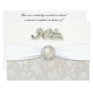 30. Hochzeitstag-Einladung 12,7 X 17,8 Cm Einladungskarte