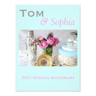 30. Hochzeitstag-Einladung 16,5 X 22,2 Cm Einladungskarte
