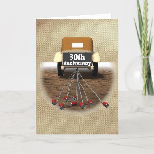 30 hochzeitstag geschenke karte zazzle - 30 hochzeitstag geschenke ...