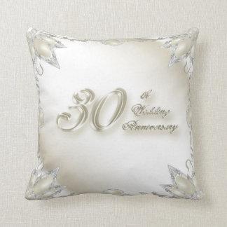 30. Hochzeitstag-Wurfs-Kissen Kissen
