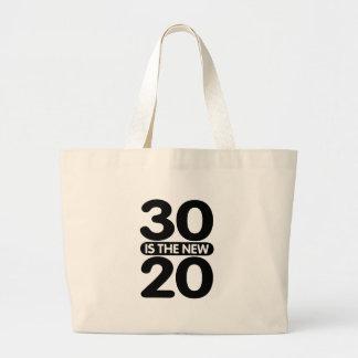 30 ist die neuen 20 jumbo stoffbeutel