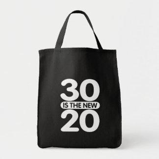 30 ist die neuen 20 tragetasche