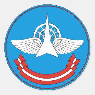 30. Militärische zentrale wissenschaftliche Forsch Stickers
