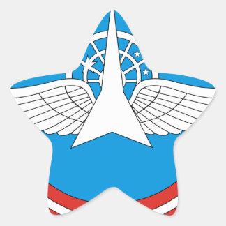 30. Militärische zentrale wissenschaftliche Stern Aufkleber