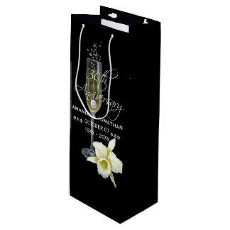 30. Perlen-Hochzeits-Jahrestags-Party-Geschenk Geschenktüte Für Weinflaschen