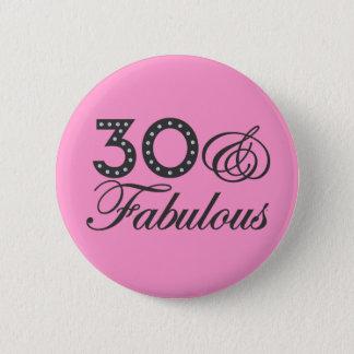 30 u. fabelhaftes Geschenk Runder Button 5,7 Cm