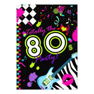 311-Totally das 80er Party - Türkis-Gitarre