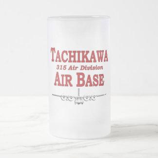 315th ANZEIGE Tachikawa-Flughafen Japan Mattglas Bierglas
