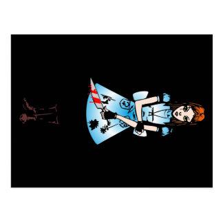 316 Alice Goth Farbvariante 2 Postkarte
