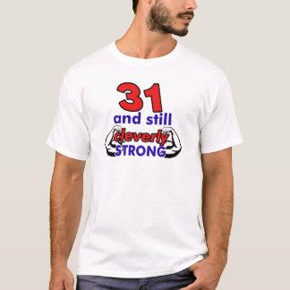 31 Geburtstags-Entwurf T-Shirt