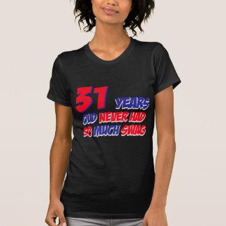 31 Jahre alte Geburtstagsentwurf T-Shirt