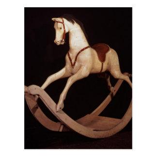 31: Schaukelpferd, Englisch, 1840 Postkarte