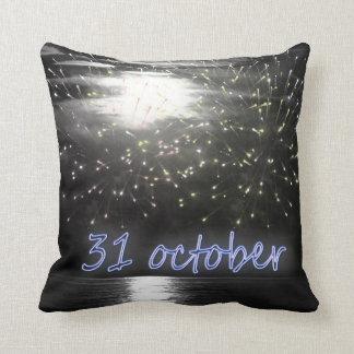 31's Oktober Nachtkissen Kissen