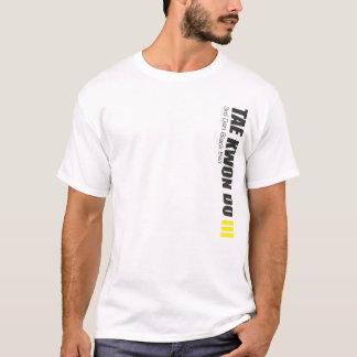 323-3 3. schwarzer Gurt-Taekwondo-Shirt Dans T-Shirt