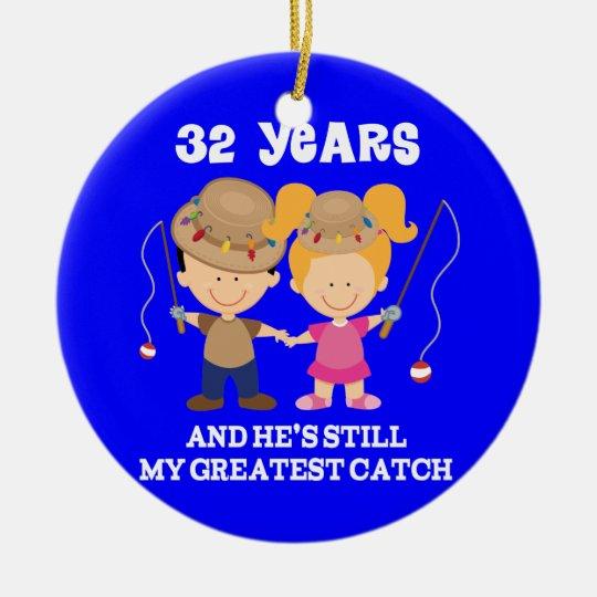 32. Hochzeitstag-lustiges Geschenk für sie Keramik