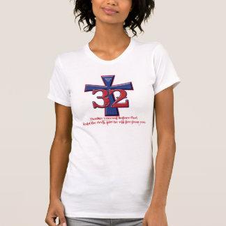 32 Schrifts-Behälter T-Shirt