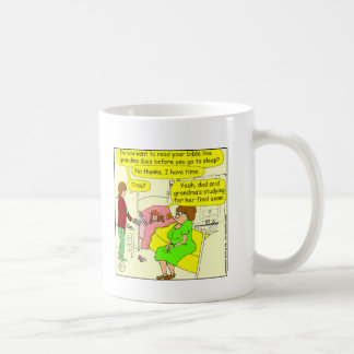 330 lasen Bibel Cartoon Kaffeetasse
