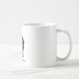 337px-Fist.svg [1], schwarzer Power Kaffeetasse