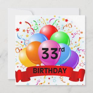 33 jahre geburtstag