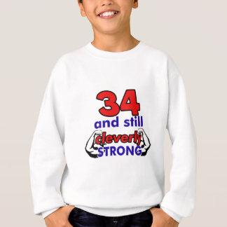 34-Geburtstags-Entwurf Sweatshirt