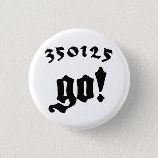 350125 Go! Runder Button 3,2 Cm