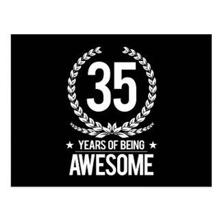 35. Geburtstag (35 Jahre des Seins fantastisch) Postkarte