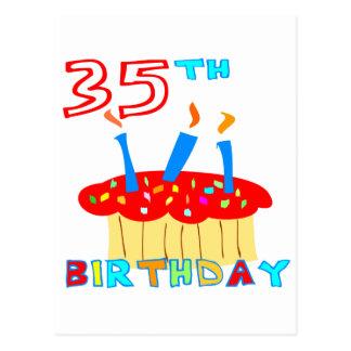 35. Geburtstag Postkarte