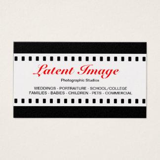 35mm Film (Gold) Visitenkarte