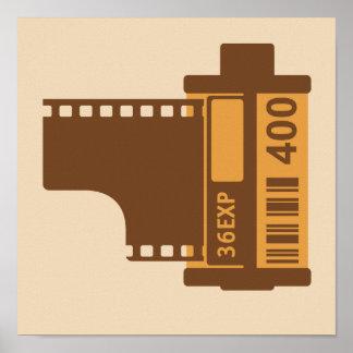 35mm SLR Kamera-Film Poster