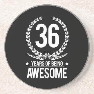 36. Geburtstag (6 Jahre des Seins fantastisch) Getränkeuntersetzer