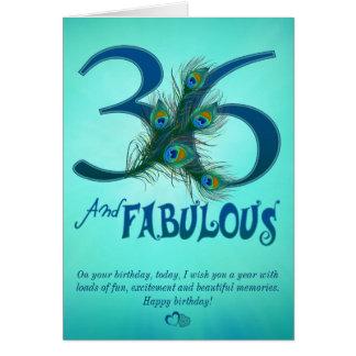36. Geburtstagsschablone Karten