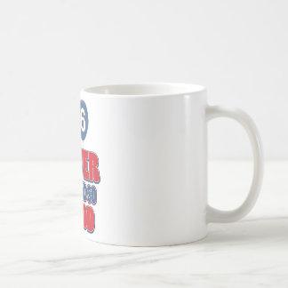 36. Jahrgeburtstagsentwürfe Kaffeetasse