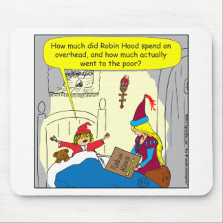 383 Robin Hood obenliegender Cartoon Mousepad
