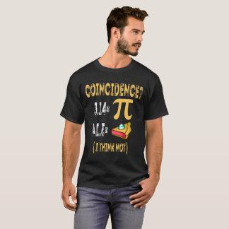 3,14 PU-Torten-Übereinstimmung denke ich nicht T-Shirt