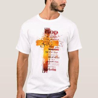 3:16 Kreuz T-Shirt