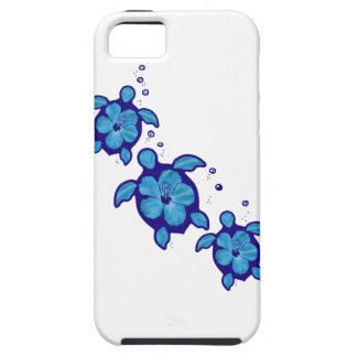 3 blaue Honu Schildkröten Etui Fürs iPhone 5